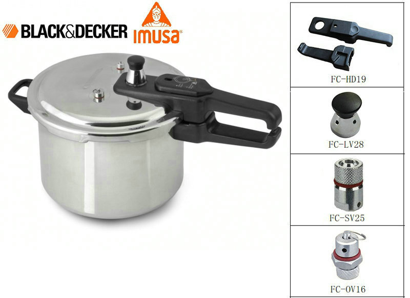 BLACK&DECKER IMUSA Pressure Cooker